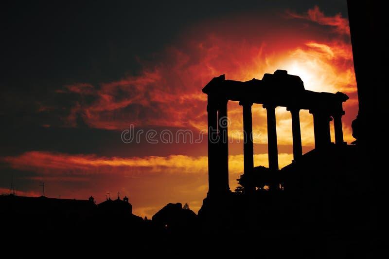 Forum Romanum photo libre de droits