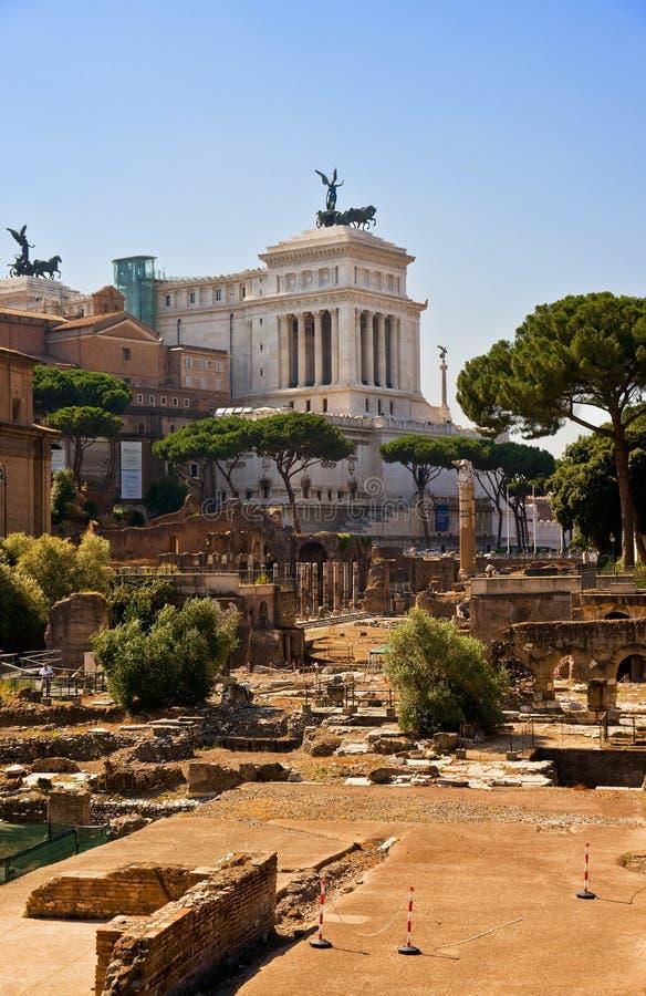 Free Forum Romanum And Capitol. Stock Photo - 15244990