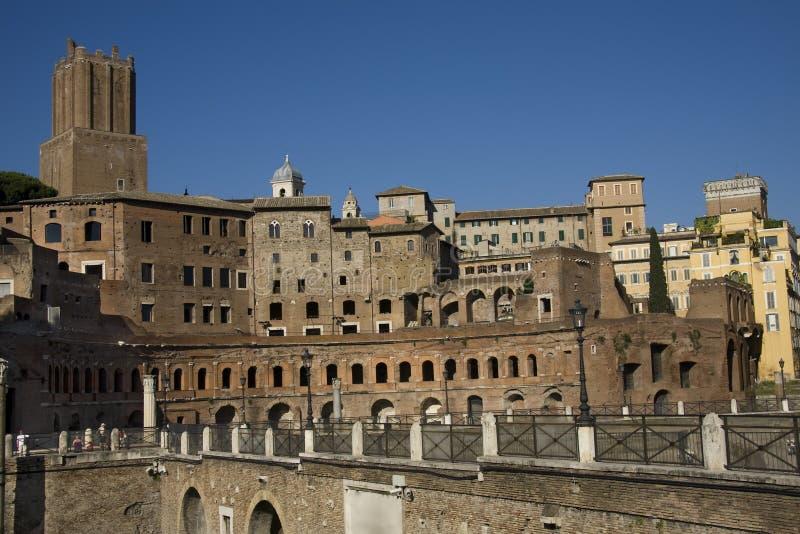 forum romanum Rome fotografia stock
