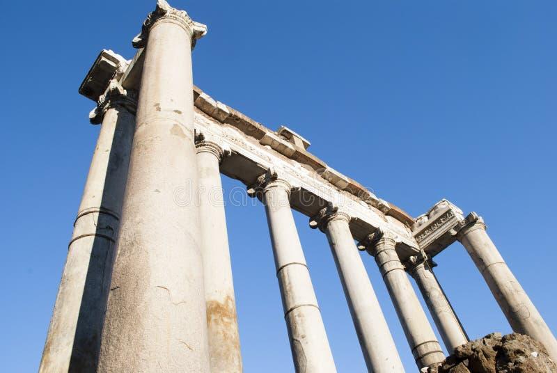 forum rzymski zdjęcia royalty free