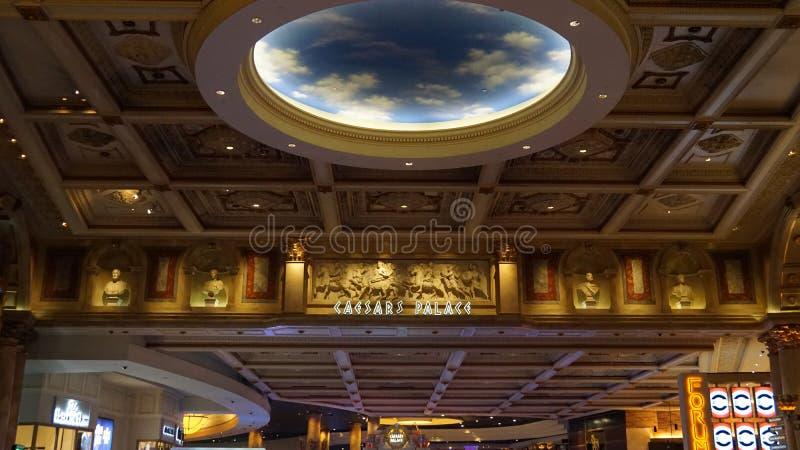 Forum shoppar i Las Vegas arkivbild