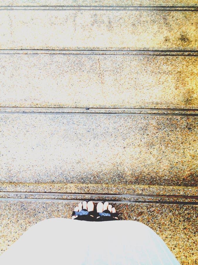 forward step stock photography
