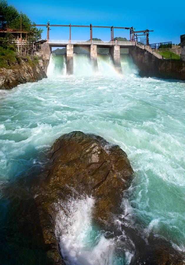 Forza idroelettrica fotografia stock
