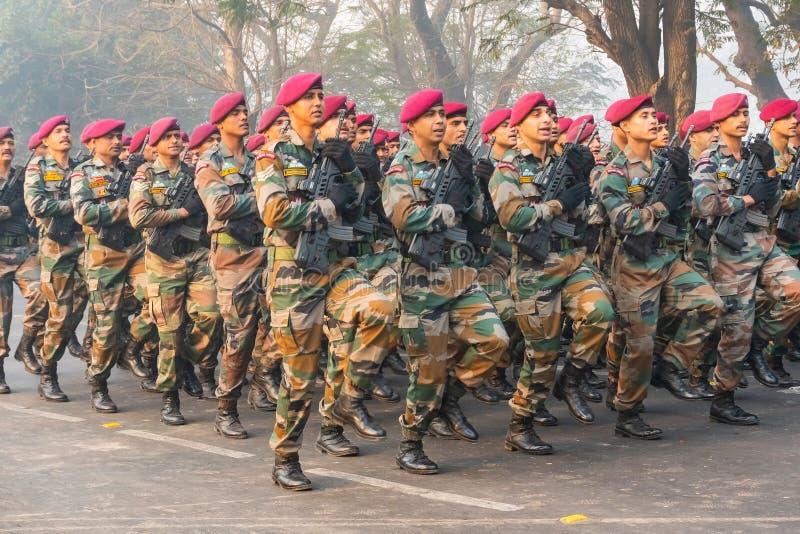 Forza militare indiana immagine stock