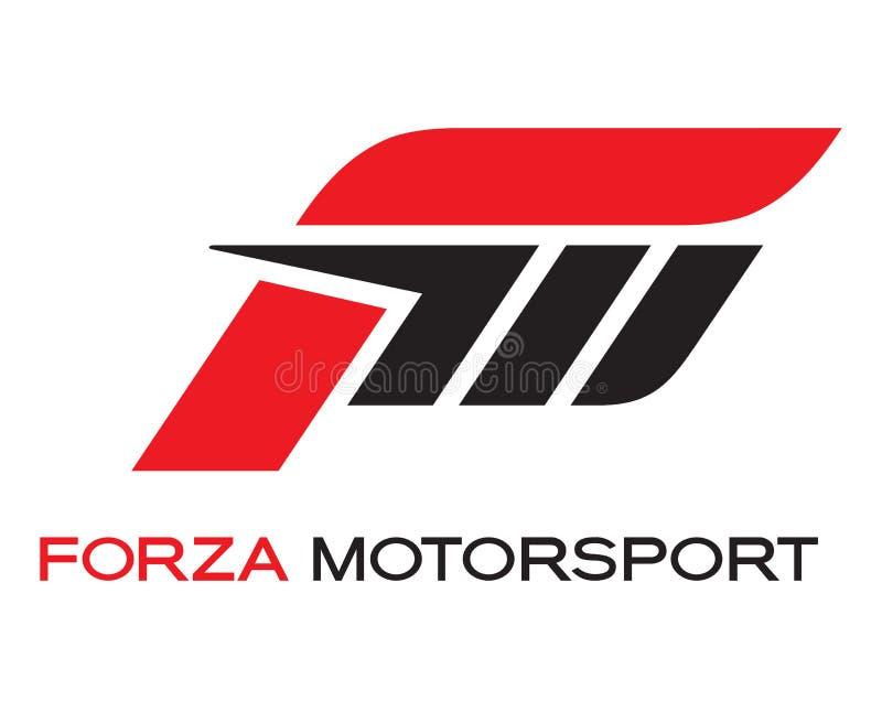 Forza Motorsport-Logo lizenzfreie abbildung