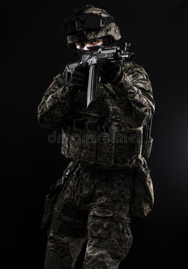 Forze armate russe immagine stock
