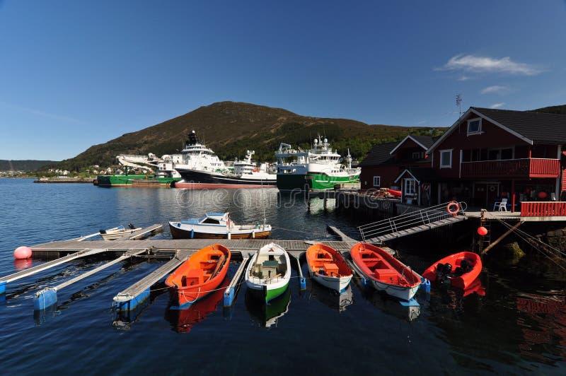 Fosnavag Norge arkivfoto
