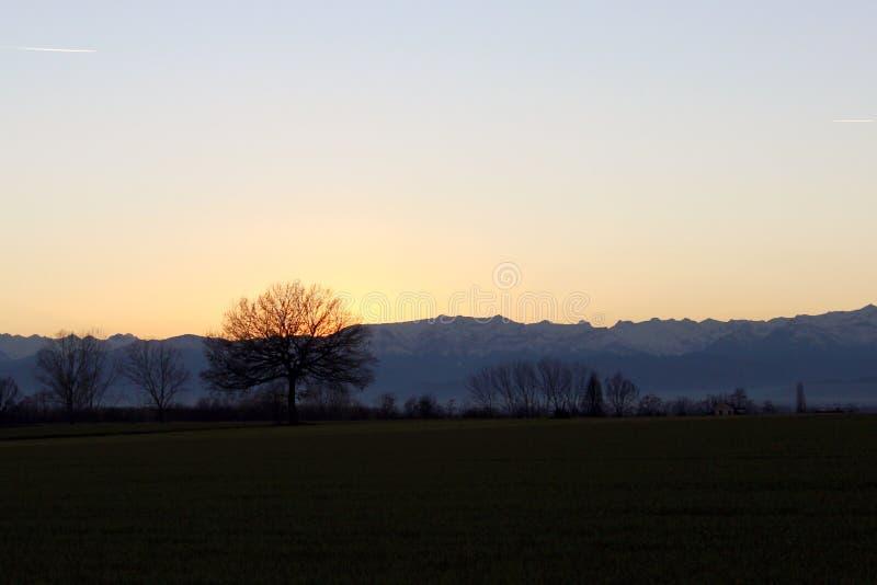 Fossano το φθινόπωρο στοκ φωτογραφία με δικαίωμα ελεύθερης χρήσης