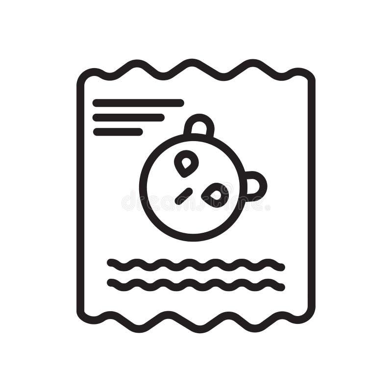 Fossiel pictogram vectordieteken en symbool op witte achtergrond wordt geïsoleerd vector illustratie