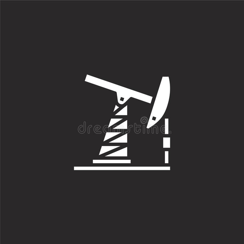 fossil fuel icon. Filled fossil fuel icon for website design and mobile, app development. fossil fuel icon from filled global stock illustration