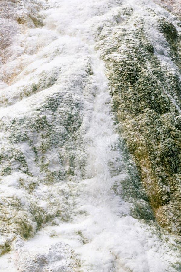 Fosso Bianco gorące wiosny w Tuscany zdjęcie stock
