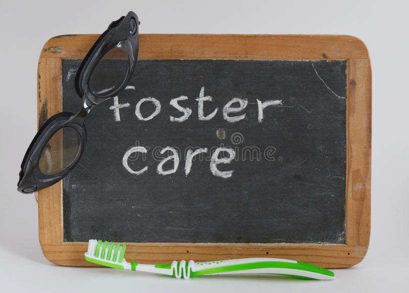 Fostercare, fomentando foto de archivo libre de regalías