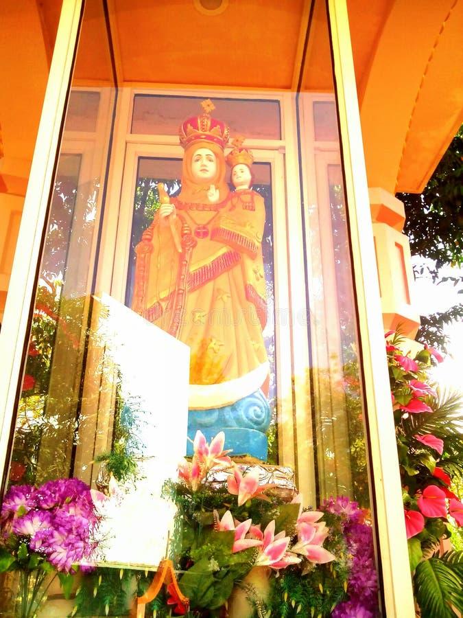 Fostra Mary royaltyfri fotografi
