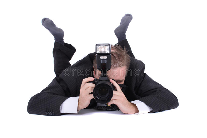 Fotógrafo imagem de stock royalty free