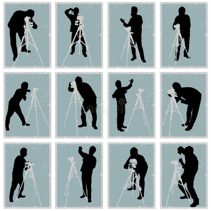 Fotógrafo ilustração stock