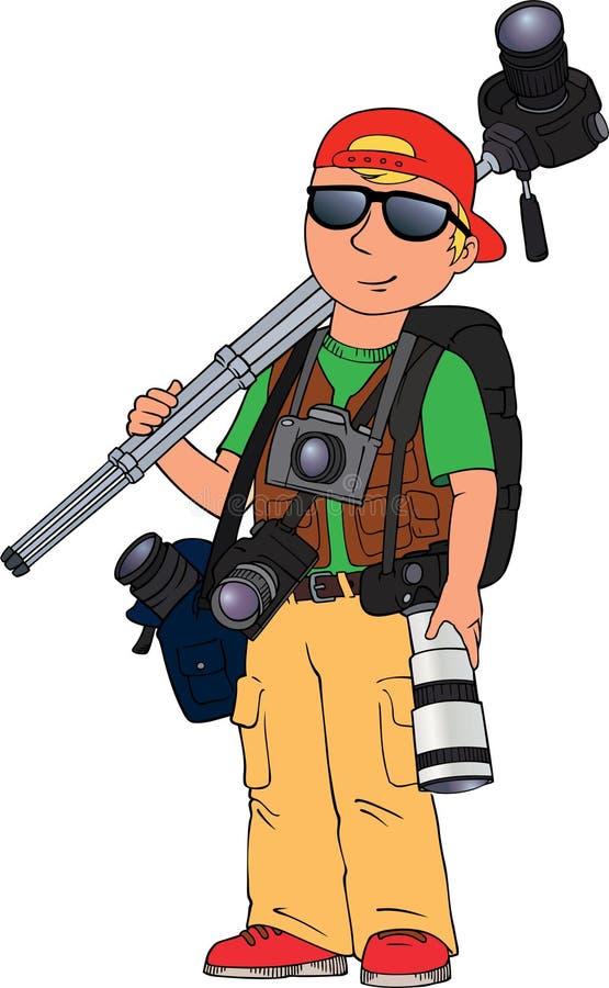 Fotógrafo libre illustration