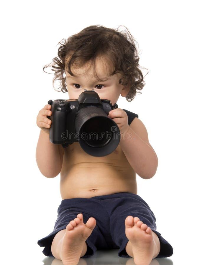 Fotógrafo. fotografia de stock royalty free