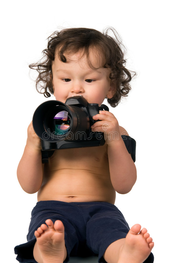 Fotógrafo. imagen de archivo