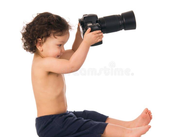 Fotógrafo. imagem de stock