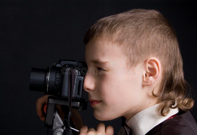 Fotógrafo da criança fotos de stock