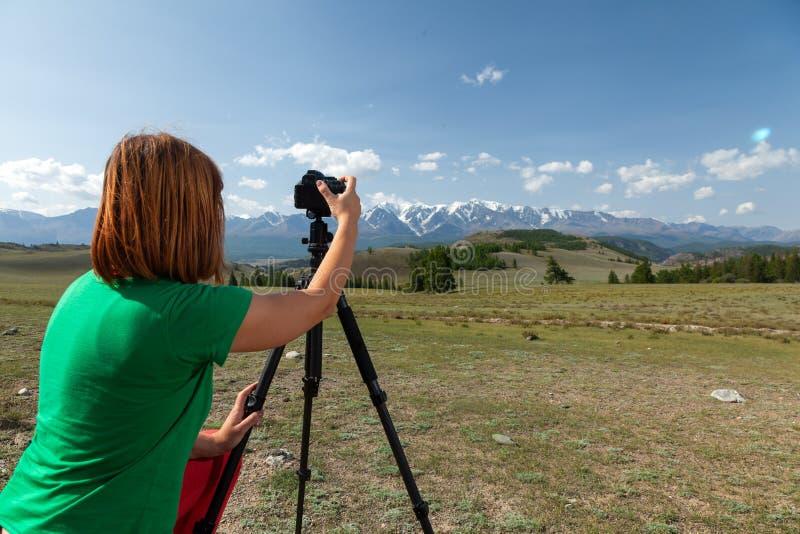 Fotógrafo del viaje fotos de archivo libres de regalías