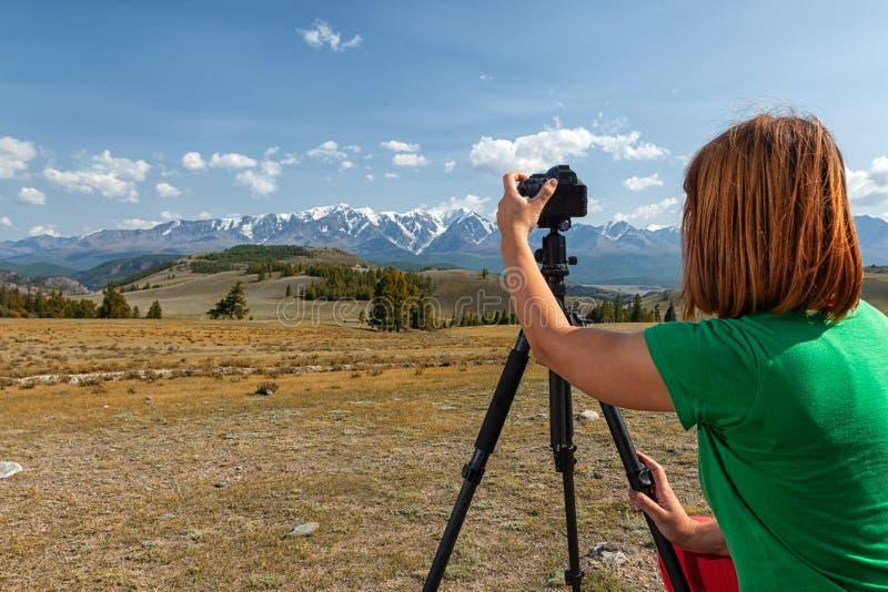 Fotógrafo do curso foto de stock