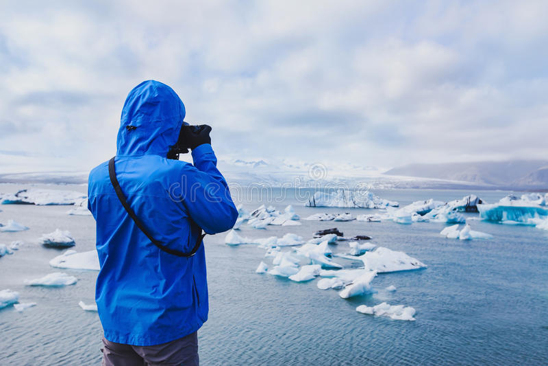 Fotógrafo do curso da natureza imagens de stock
