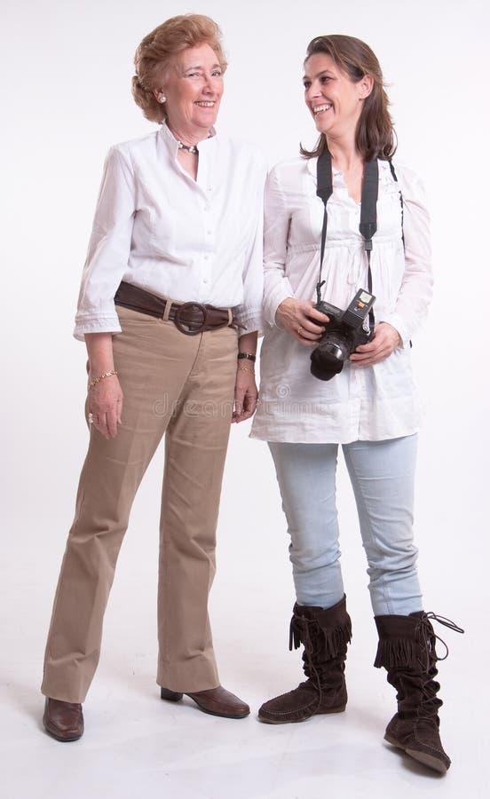 Fotógrafo e modelo imagem de stock royalty free