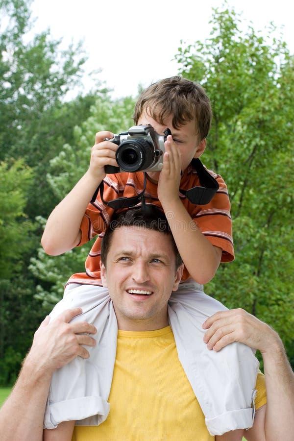 Fotógrafo joven imagen de archivo libre de regalías