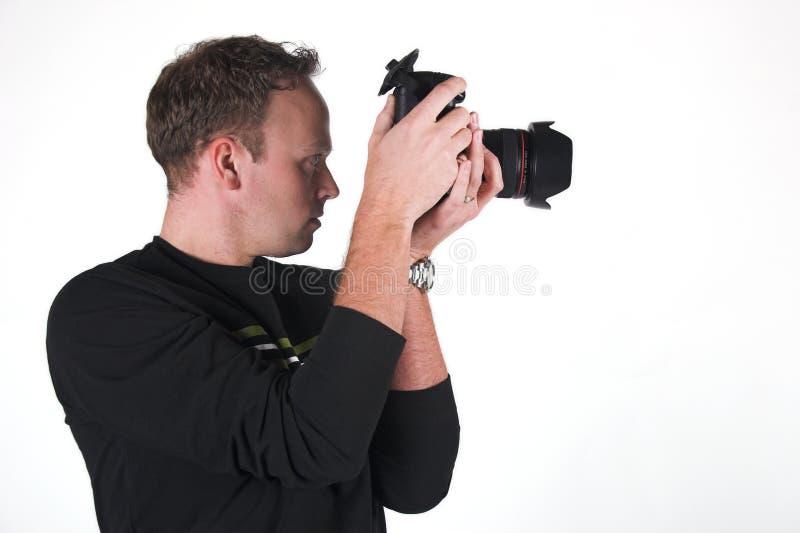 Download Fotógrafo no trabalho imagem de stock. Imagem de novo, macho - 540991