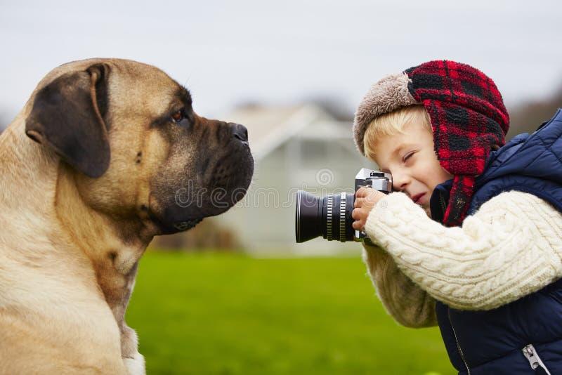 Fotógrafo pequeno fotos de stock