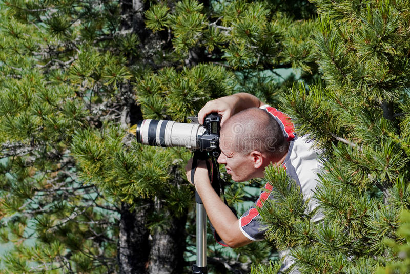 Fotógrafo profesional imagen de archivo libre de regalías