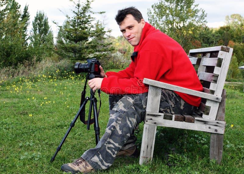 Fotógrafo profesional fotos de archivo