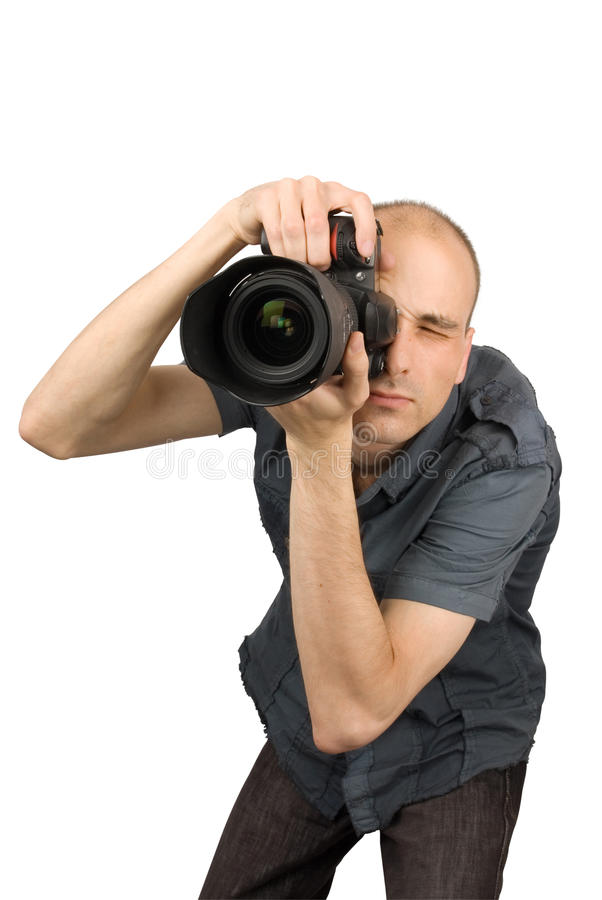 Fotógrafo profesional imagenes de archivo
