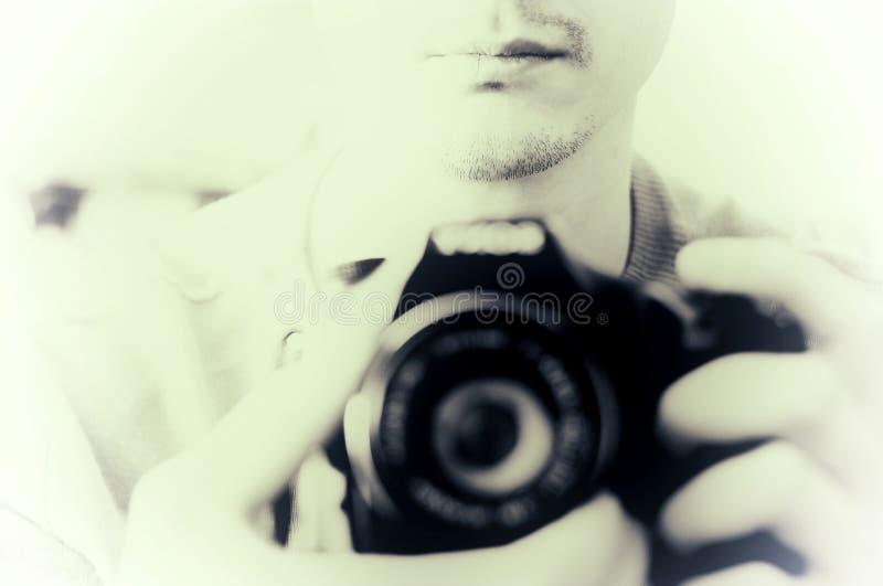 Fotógrafo profesional en el trabajo fotos de archivo libres de regalías