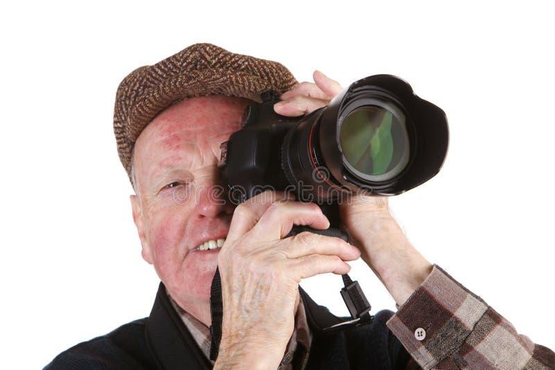Fotógrafo superior fotos de stock