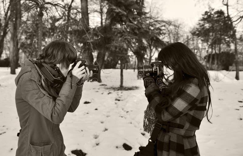 Fotógrafos imágenes de archivo libres de regalías