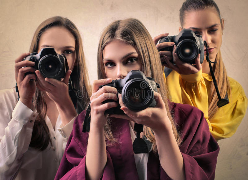 fotógrafos foto de stock royalty free