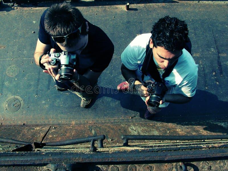 Fotógrafos imagenes de archivo