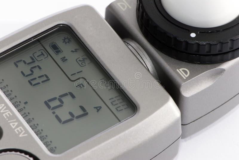 Fotómetro fotografía de archivo