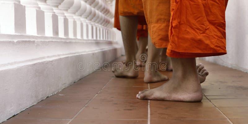 Fot av att gå för munkar royaltyfri fotografi