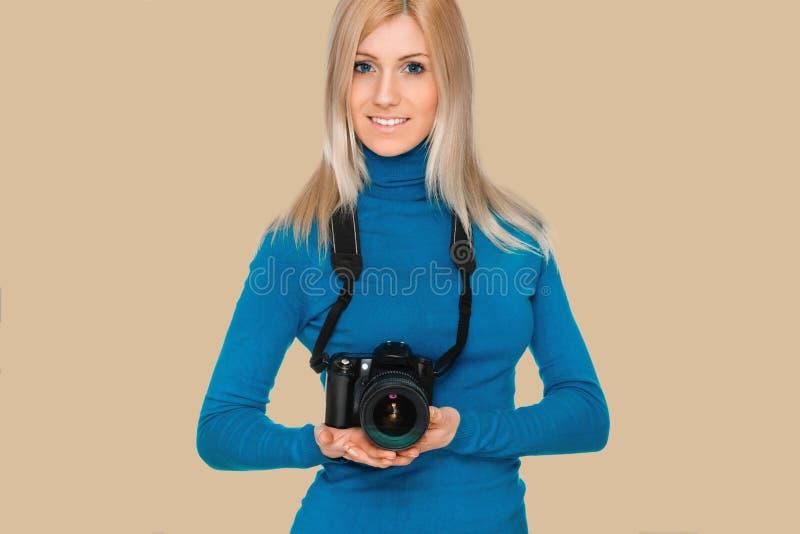 Fot?grafo da beleza fotos de stock
