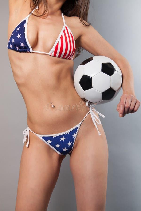 Fotball royalty-vrije stock fotografie