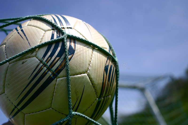 Fotboll #1 arkivfoton