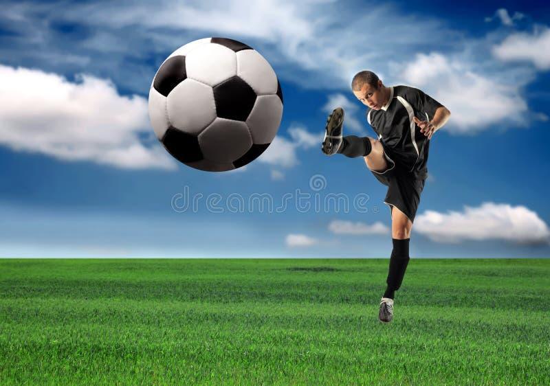 fotboll arkivbild