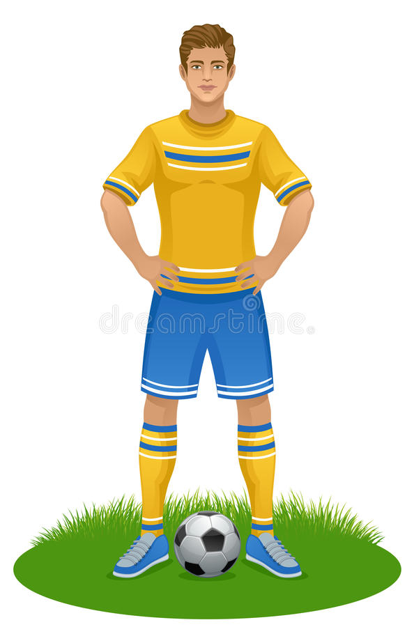 fotboll vektor illustrationer