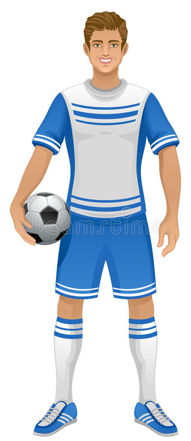 fotboll royaltyfri illustrationer