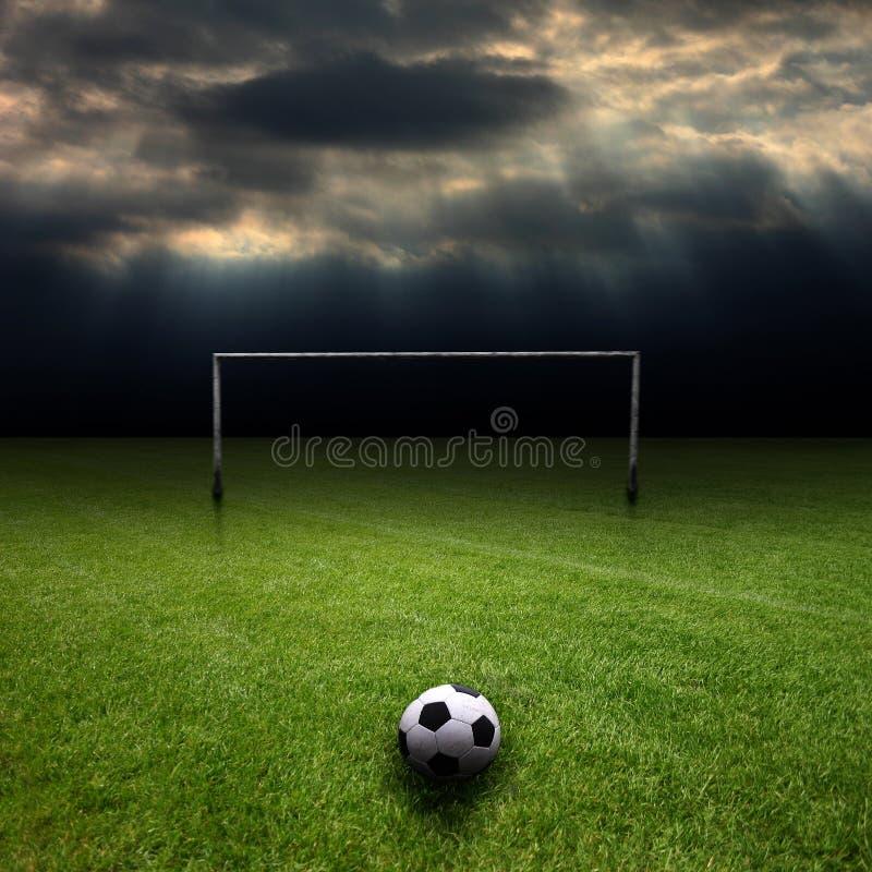 fotboll 4 arkivfoton