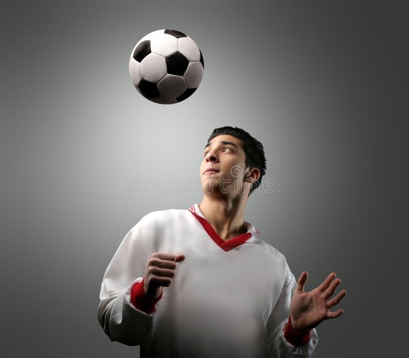 fotboll 58 royaltyfri foto