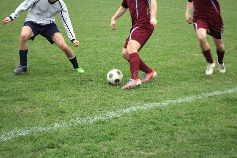 Fotboll eller fotboll royaltyfria foton